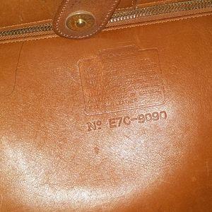 Coach Bags - Vintage Tan Leather Coach Bag